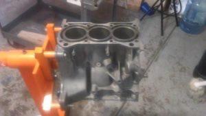 1993 Geo metro engine block